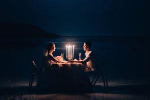 ужин при свечах картинки